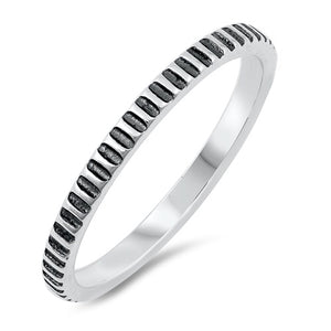 Aztec - Stacking Ring