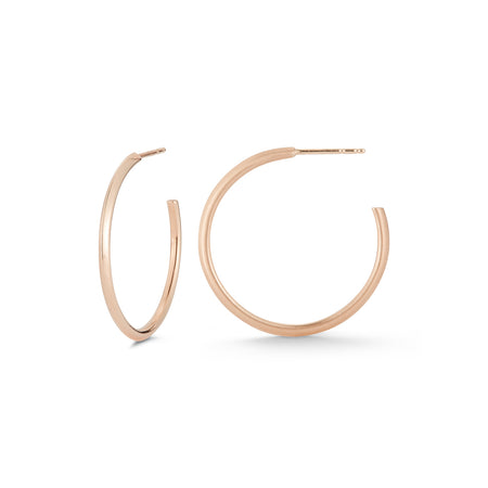 Medium Knife Edge Hoops
