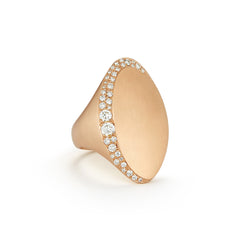 Jade Trau Adele Ring in 18K Rose Gold