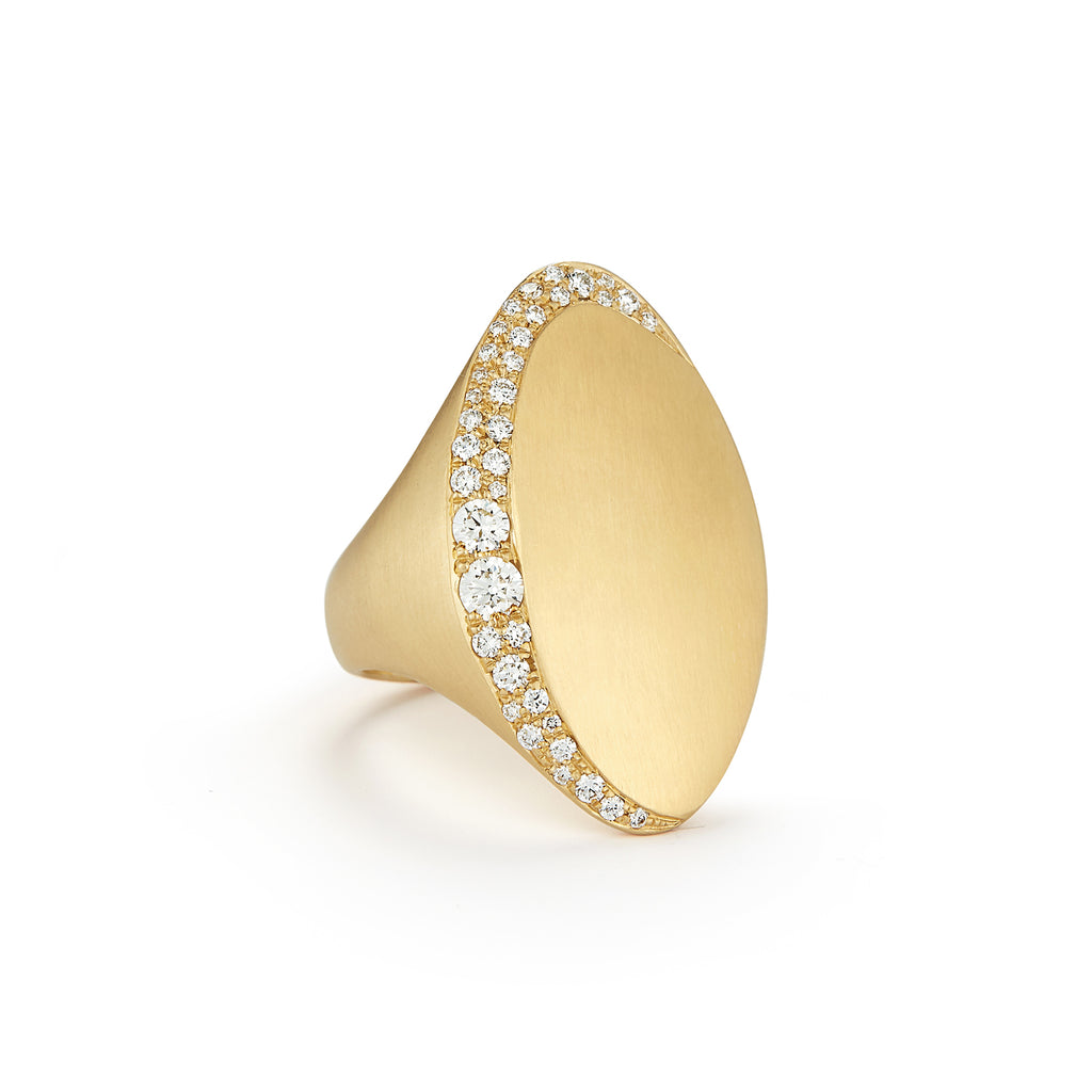 Jade Trau Adele Ring in 18K Yellow Gold