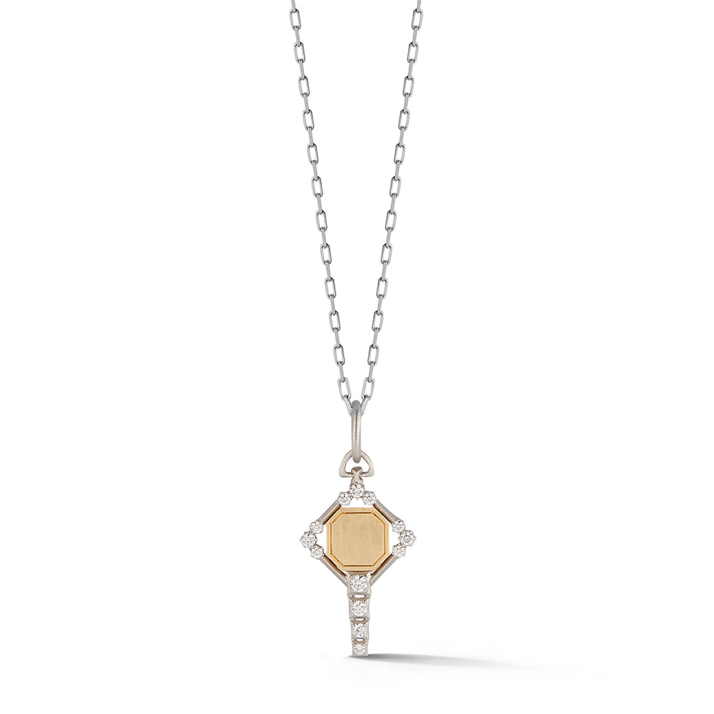 Mini Harlow Two-Tone Key Charm