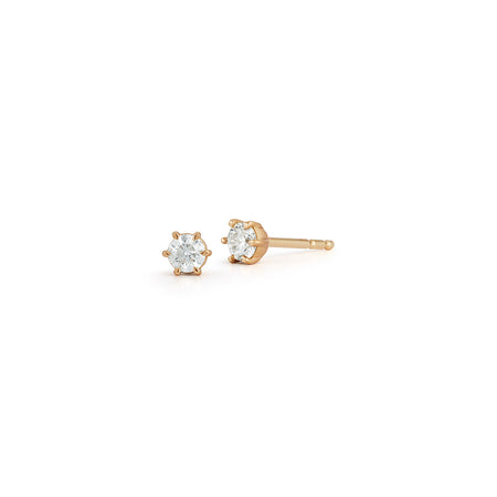 0.15tcw Solitaire Studs
