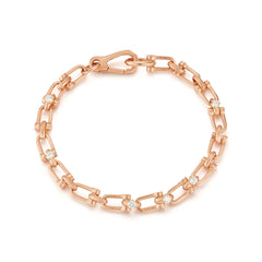Georgina Diamond Link Bracelet