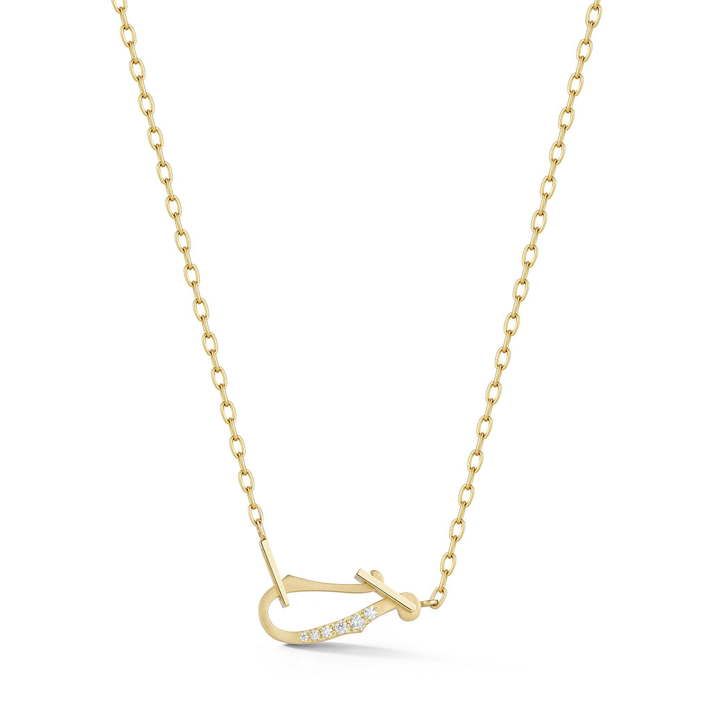 Diamond Loop Necklace
