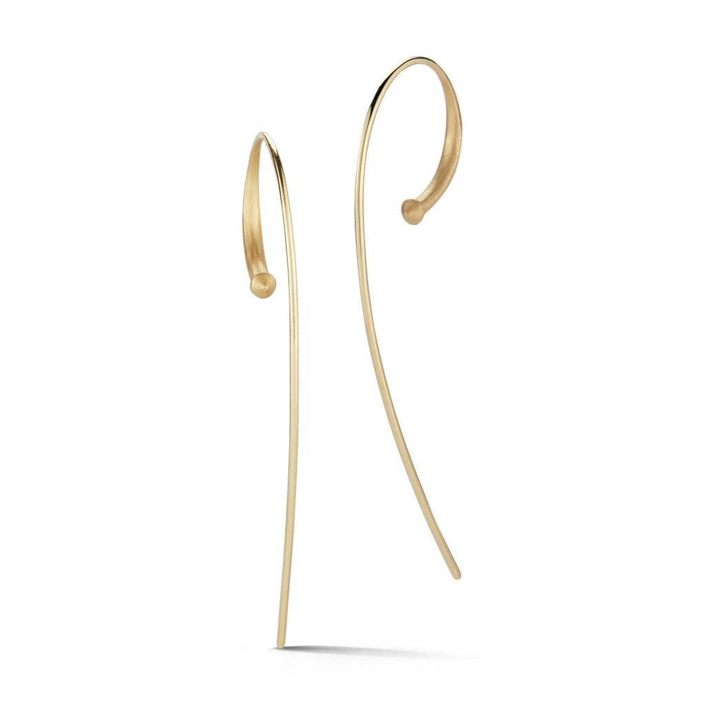 Jade Trau Alchemy Large Hoops in 18K  Yellow Gold