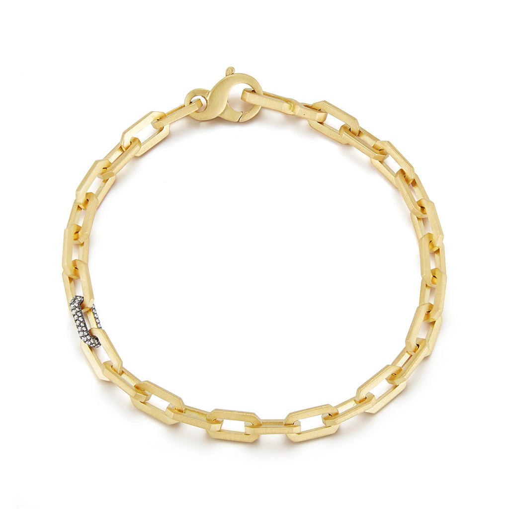 Tatum Diamond Thick Chain Bracelet