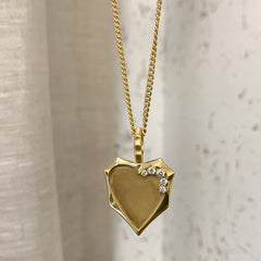 Heart Medallion Charm