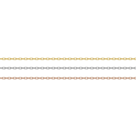 Rectangle Chain Necklace No. 50