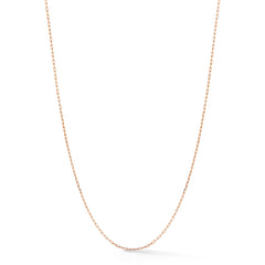 Rectangle Chain Necklace No. 40