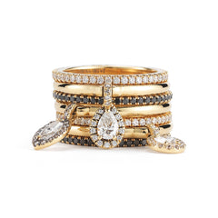 Charm Ring Stack