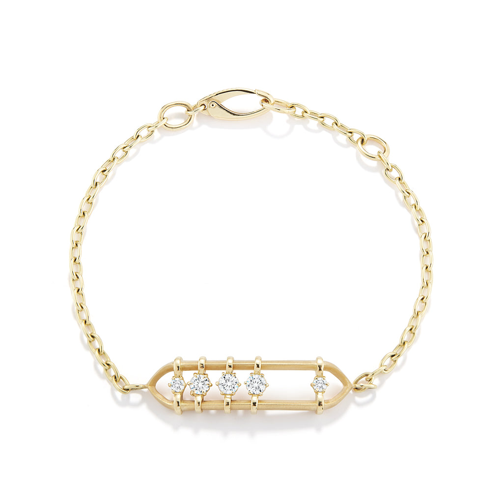 Penelope Floating Diamond Bracelet