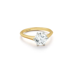 Seline Solitaire Ring