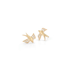 Soaring Nightingale Studs