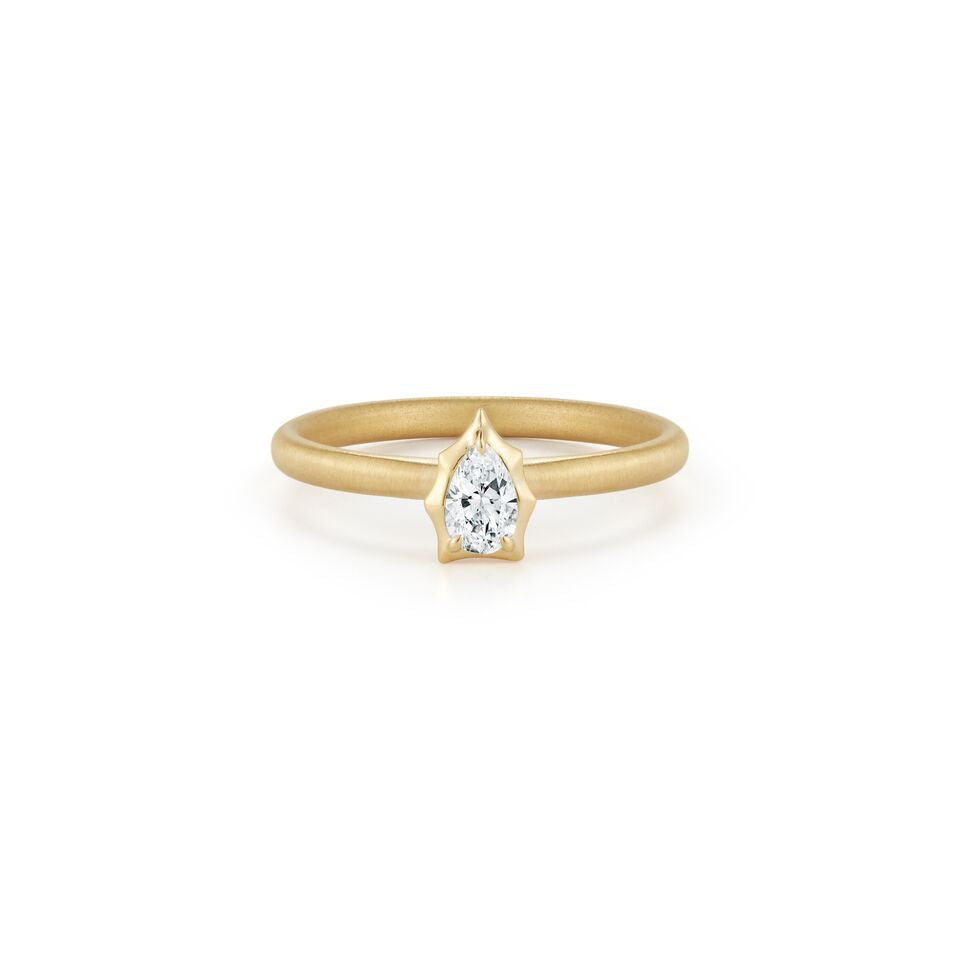 Envoy Solitaire Stackable Ring