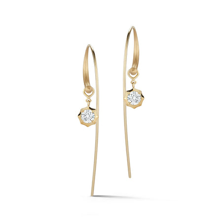 Sophisticate Large Hoops with Single Drops