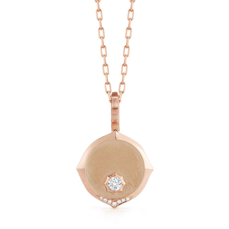 Sophisticate Medallion Necklace
