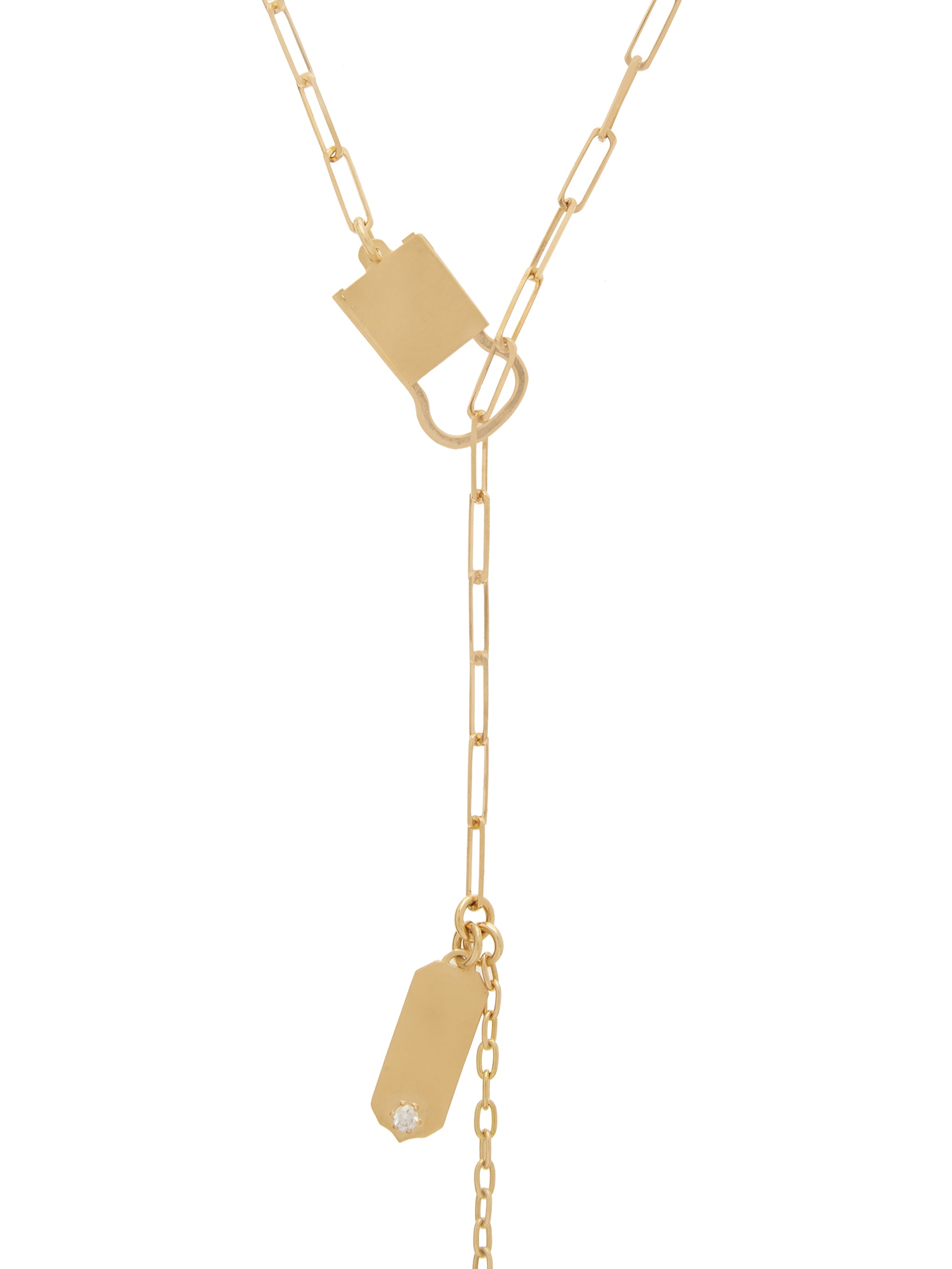 Jade Trau Betty Necklace in 18K Yellow Gold