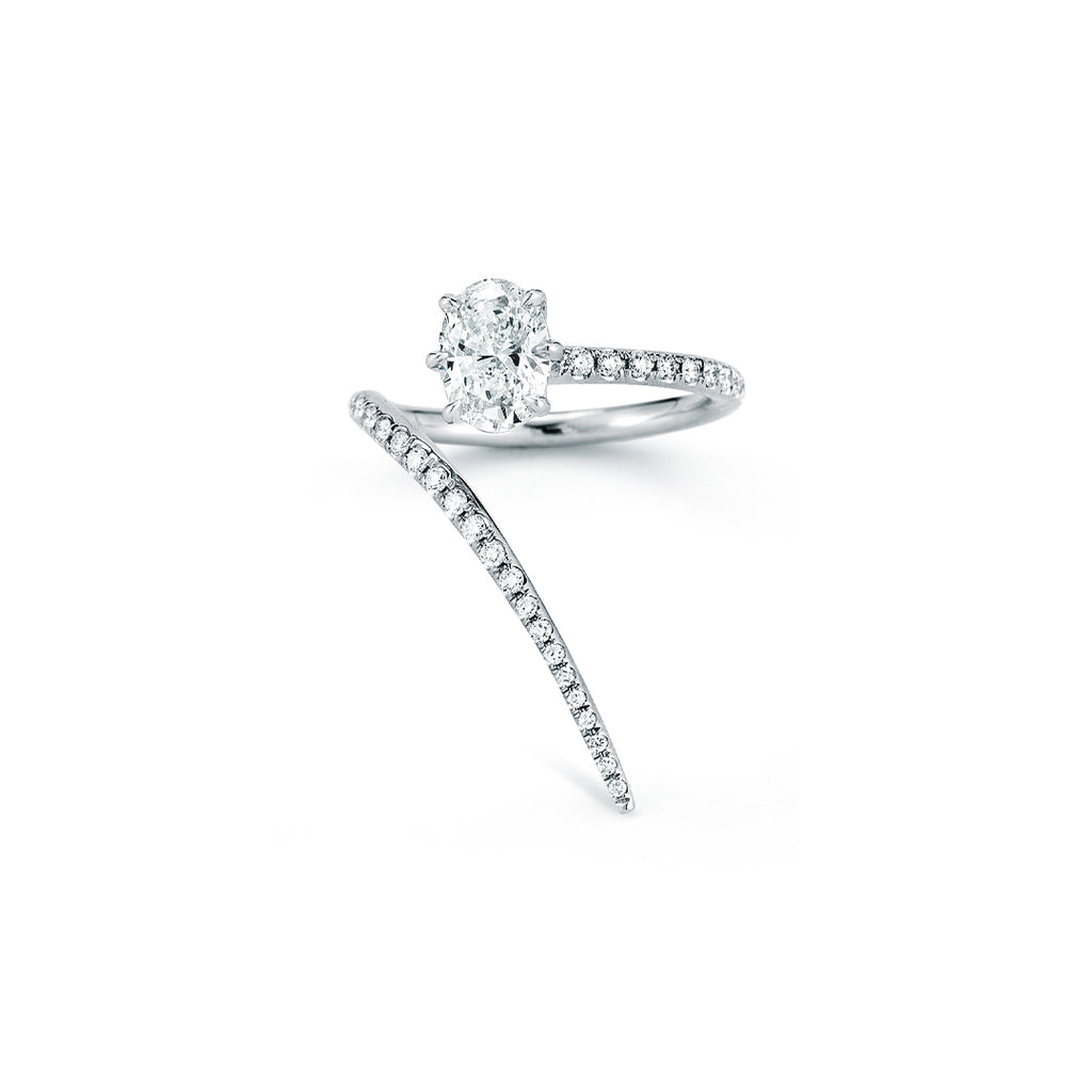 Rae Wrap Ring With Pave (1.20tcw)