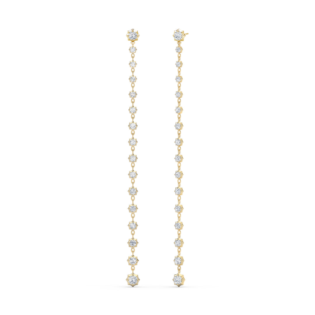 Sophisticate Studs with Long Drops