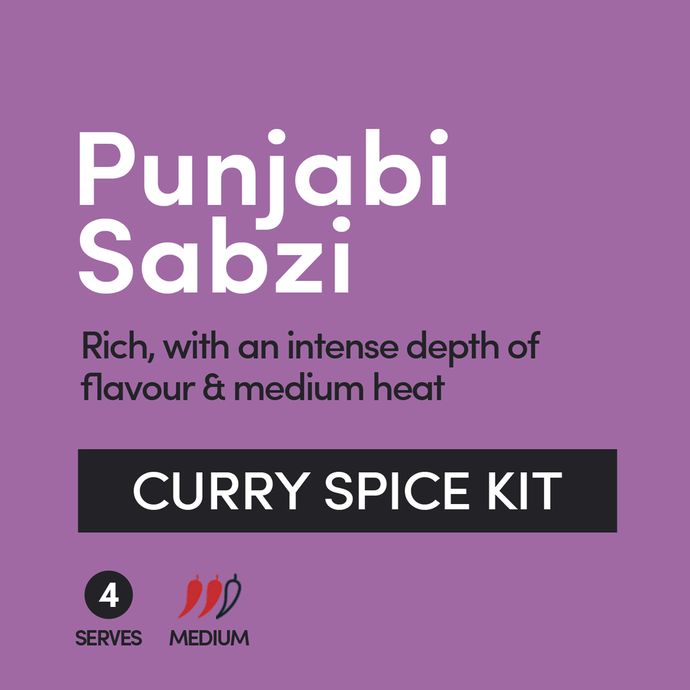 Punjabi Sabzi Curry Spice Kit