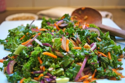 Kale Salad Kids Love