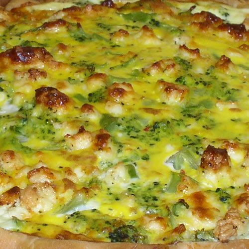 Spinach And Cheese Quiche Recipe