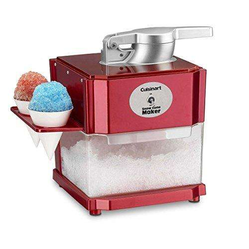 Cuisinart SCM-10 Snow Cone Maker, Red
