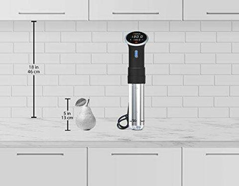Anova Culinary Sous Vide Precision Cooker Bluetooth, Immersion Circulator, 800 Watts