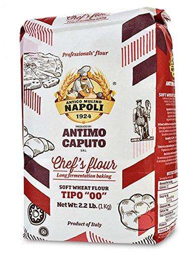 "Antimo Caputo Italian Superfine ""00"" Farina Flour 2.2 lb -- Pack of 3"