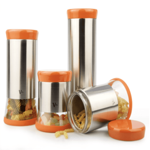 4-Piece Canister Set (R)