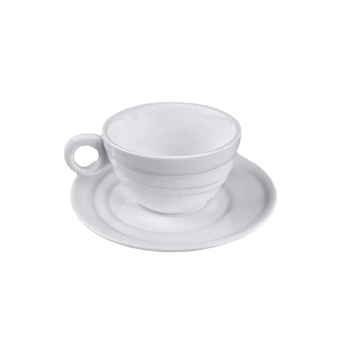 Spinning Collection 90 ml Porcelain Espresso Cup & Saucer Set