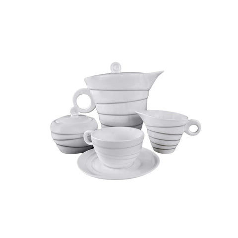 Spinning Collection 1L Porcelain Teapot