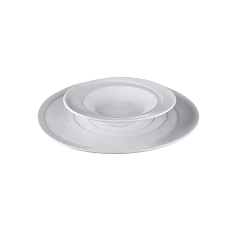 "Spinning Collection 8.7"" (22 cm) Porcelain Soup Plate"