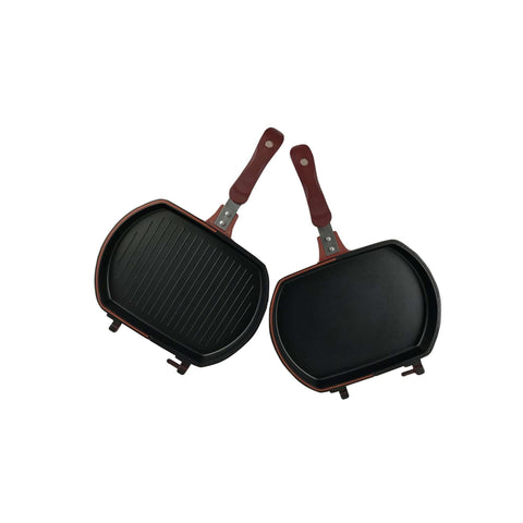 "11.6 x 8.7"" (29.5 x 22 cm) Double Sided Multi-Purpose Grill Pan"