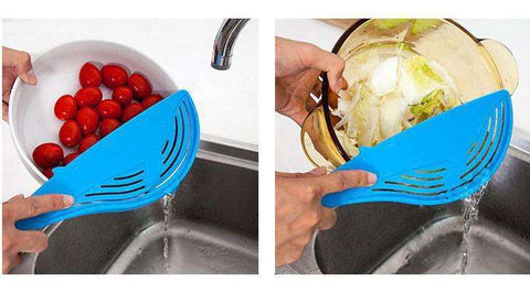 Whale Shaped Plastic Pot Strainer