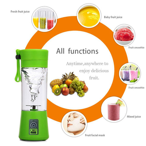 Portable Electric Juicer
