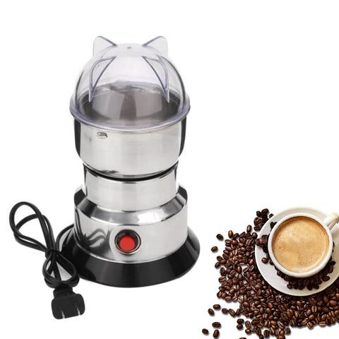 Electric Coffee Machine Stainless Steel Coffee Grain Grinder Household Mill Electric Coffee Grain Grinder Kitchen Tools #712