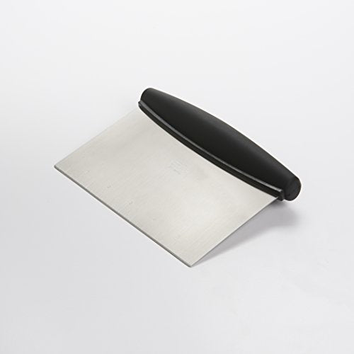 Multi-purpose stainless steel scraper & chopper