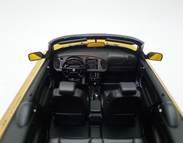 Saab 9-3 Viggen convertible yellow interior