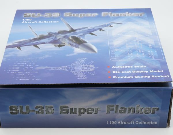 SU-35 Super Flanker Blue 9