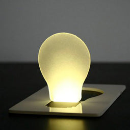 Wallet size mini Portable Pocket LED Card Light Lamp