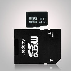 64GB Micro SD Memory Card with Micro SD to SD Adapter (Secure & Compatible)