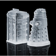 Silicone Ice Cube Tray Novelty Retro Design (Doctor Who) Ice Block Mold Maker