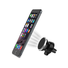 360 Rotation Magnetic iPhone Smartphone Gold Universal Car Phone Holder