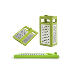 4-in 1 Box Grater Folds Flat for Storage