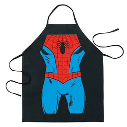 Cartoon Comic Kitchen Cooking Apron (Spider Man)