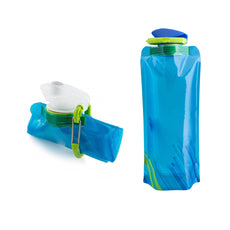 700ml New Flexible Collapsible Foldable Reusable Water Bottles Ice Bag Outdoor