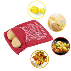 Microwave Baked Potato Cooking Bag Potato Express Washable Cooker