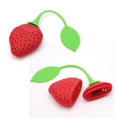 Herbal Strawberry Silicone Tea Infuser