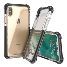 iPhone X Drop Proof Case PC+TPU Tough Shock Resistance Slim Back Cover